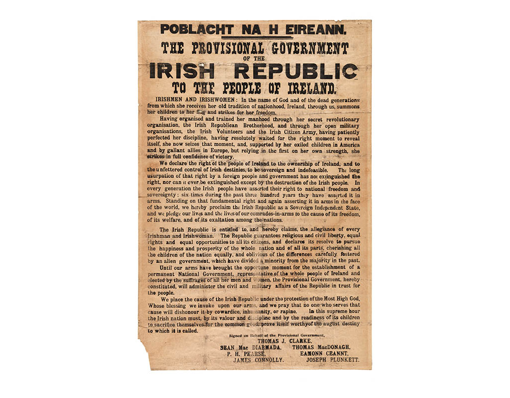 Proclamation of Irish Independence